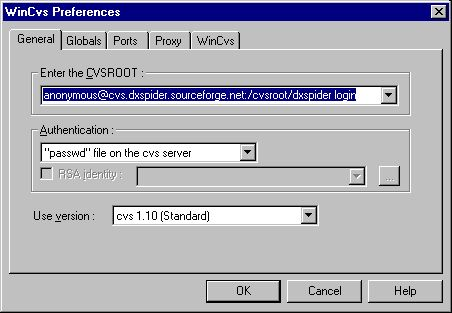 The DXSpider Administration Manual v1 51: CVS
